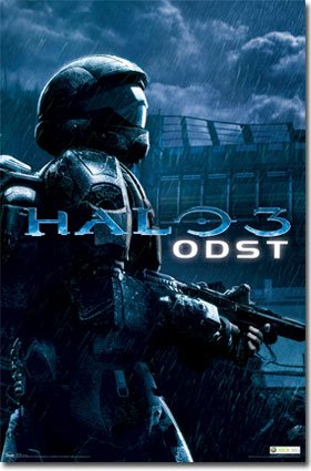 Halo Odst Microsoft Video Gaming Print Poster 22 by 34