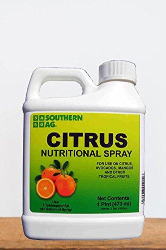 Southern Ag Chelated Citrus Nutritional Spray, 16oz - 1 Pint