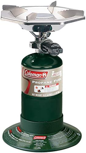 Coleman Gas Stove Portable Bottletop Propane Camp Stove with Adjustable Burner