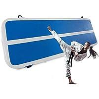 FlowerW 1x3M Airtrack Gymnastiek, opblaasbare gymnastiekmat, opblaasbare luchtbaan voor picknick of oefeningen