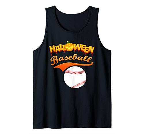 Softball Player Halloween Costume Ideas (Funny Halloween Baseball player softball player gift idea Tank)