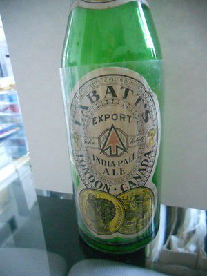 labatts-export-beer-rare-vintage-great-condition-glass-empty-bottle-1940s