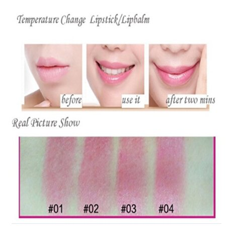 SOURBAN Color-changing Magic Jelly Flower Lipstick Long Lasting Lip Gloss