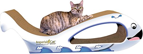 Imperial Cat Giant Whale Scratch and Shape, Beluga