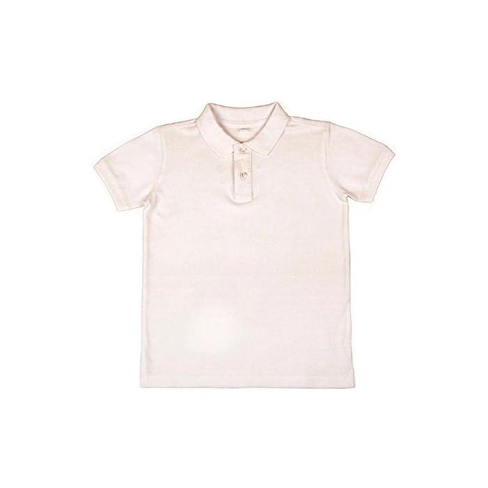41b 3 7CHFL Polo manga corta uniforme escolar Ideal para el uniforme de colegio 100% Algodón