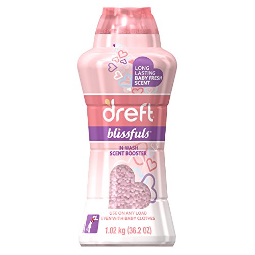 Dreft Blissfuls In-Wash Scent Booster Detergent, Original Ba