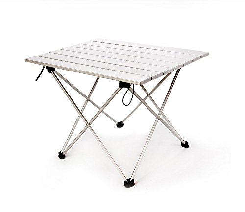 Kalili Ultralight Aluminum Portable Folding Camping Table