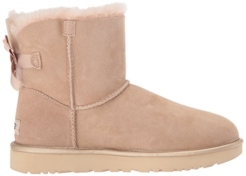 DUSK MINI BOW 101932 BAILEY Natural UGG METALLIC B4HTq5c