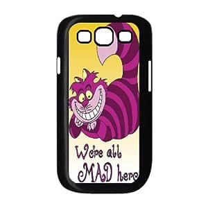 [QiongMai Phone Case] For Samsung Galaxy S3 -Alice and Cheshire Cat Pattern-IKAI0446536
