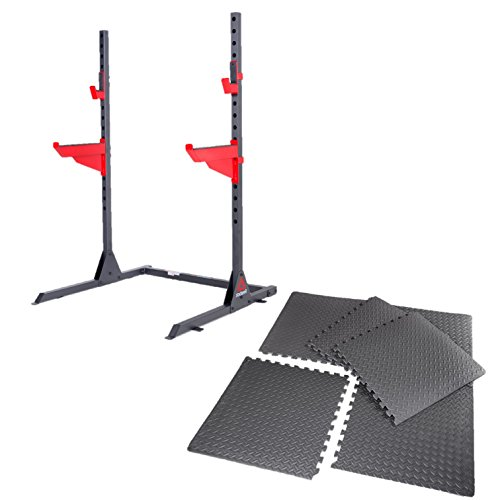 Reebok Squat Rack and Puzzle Mat Set by Reebok