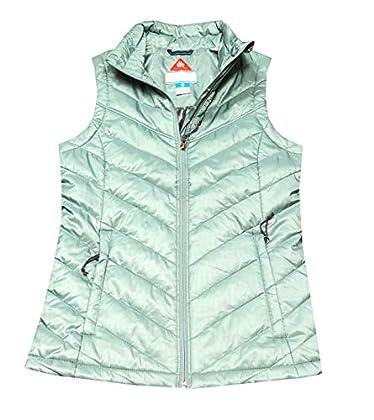 Columbia Women Morning Light III Omni-Heat Vest (XL, Light Aqua)