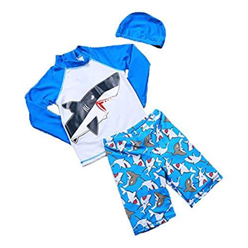 Baby 2T-7T Kids Boys Rashguard Swimsuit ...