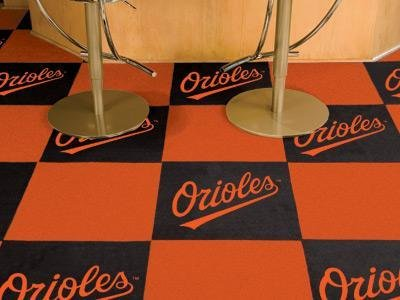 MLB - Baltimore Orioles Carpet Tiles by Fanmats