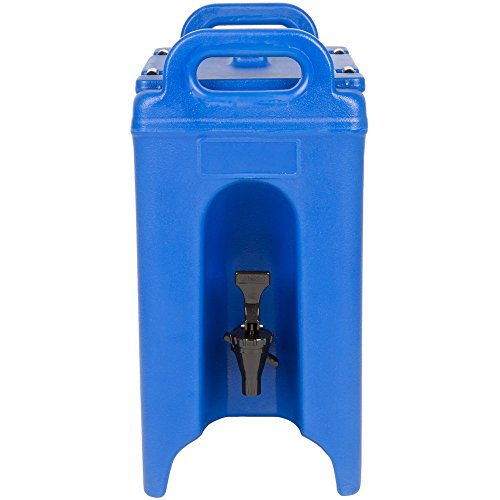 Cambro 250LCD186 Camtainer 2.5 Gallon Navy Blue Insulated Beverage ()