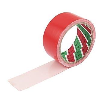 Amazon.com: Rojo Adhesivo Tela del paño palillo DE 43 mm de Cinta Para el sellado de embalaje: Industrial & Scientific