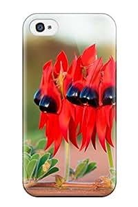 Best New Arrival Premium Iphone 4/4s Case(south Australian Floral Emblem)