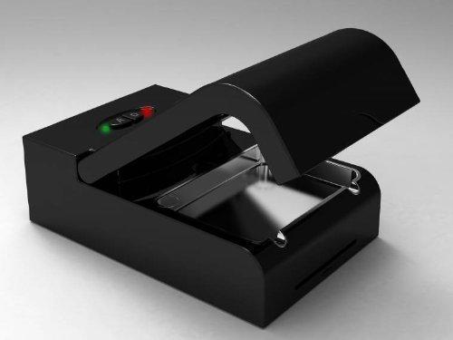 Cenicero Generador Ozono Ionizador Purificador de Aire Nuevo Color Negro