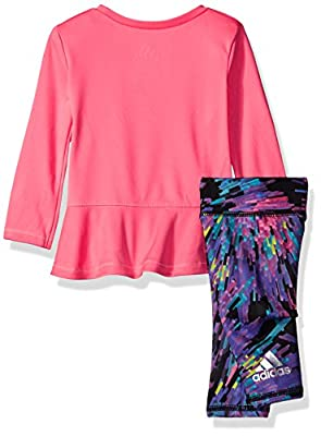 Adidas Baby Girls' Long Sleeve Top and Legging Set by Adidas (LT) Children's Apparel that we recomend personally.