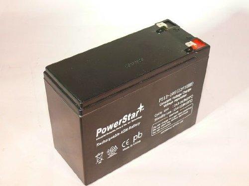 PowerStar PS12-10-74 12V44; 10Ah Sealed Lead Acid Currie Izip Ezip Ebike Battery Electric Bike Shop