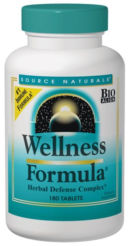 Source Naturals Wellness Formula, Herbal Defense Complex, 120 (Wellness Formula Capsules)