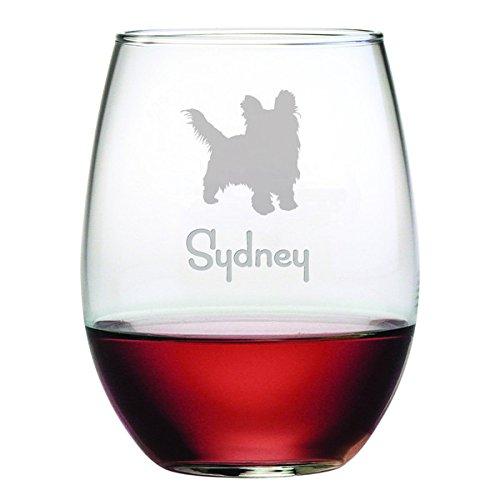 Dog Breed Wine Glass - 6