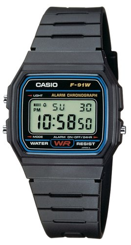 Casio Herrenarmbanduhr Casio Collection F-91W-1YEF