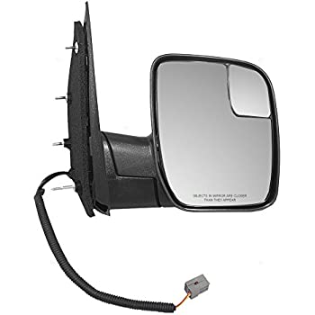 for 2009 2010 Ford Econoline Van Passenger Mirror Power Sail Type Single Glass