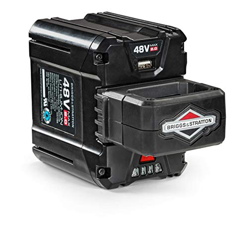 Briggs & Stratton 48V MAX 2.0 Lithium-ion Battery for Snapper HD Electric Cordless tools, 1697088, - Battery 48v