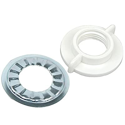 BrassCraft Faucet Locknut with Rosette Washer