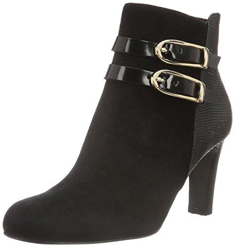 Ankle Belmondo 01 Nero Boots Women's 703505 Black FZrntZ8