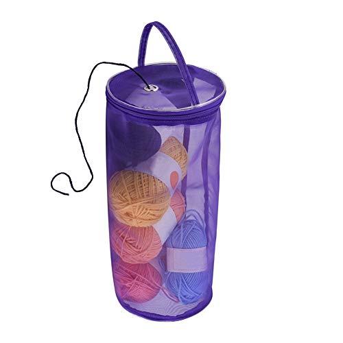 crochet sewing basket - 4