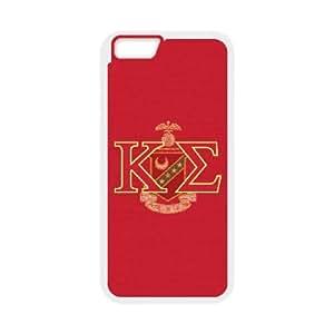 Kappa Sigma KE iPhone 6 Plus 5.5 Inch Cell Phone Case White phone component AU_479093