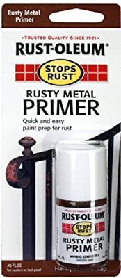 Rust-Oleum 225135 Stops Rust Rusty Metal Primer Touch-Up Paint 0.45-Ounce