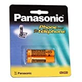 4 Replacement Batteries for HHR-65AAABU AAA for Panasonic...