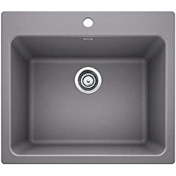 Blanco 401924 Liven Laundry Sink Metallic Gray, 1