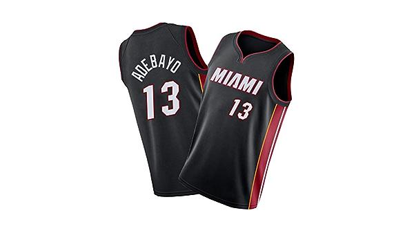 Miami Heat Bam-Adebayo 13 # Camisetas de baloncesto para ...