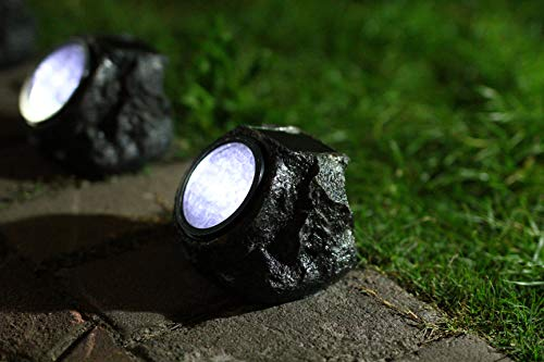 Garden Light Rocks in US - 8