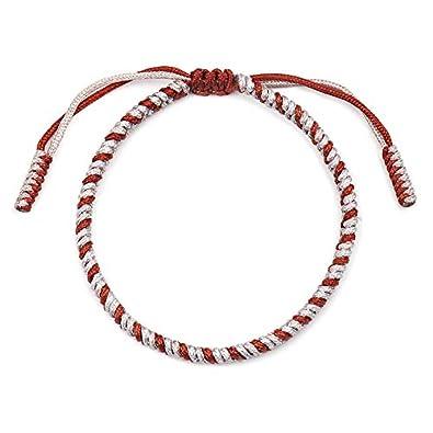 Handmade Rope Lucky Tibetan Knots Armb/änder Set Einstellbare Geflochtene Freundschaftsb/änder f/ür M/änner Frauen Schmuck