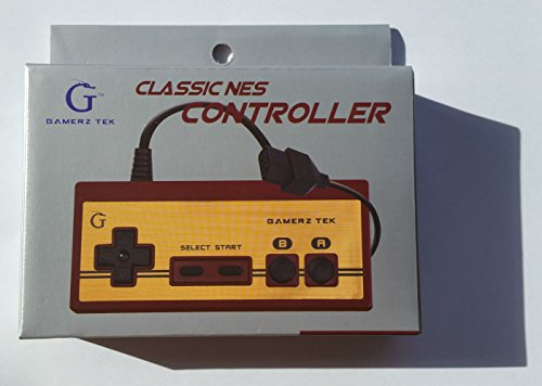 Gamerz Tek NES Famicom-style Controller [Not Compatible with NES Classic Edition Mini] (Famicom Controller compare prices)