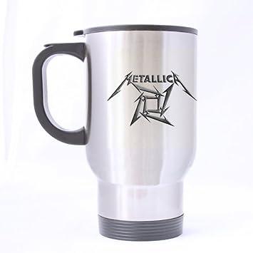 Mug Bottle Metallica Customized Personalized Sports Travel Band Cool BWreCxod