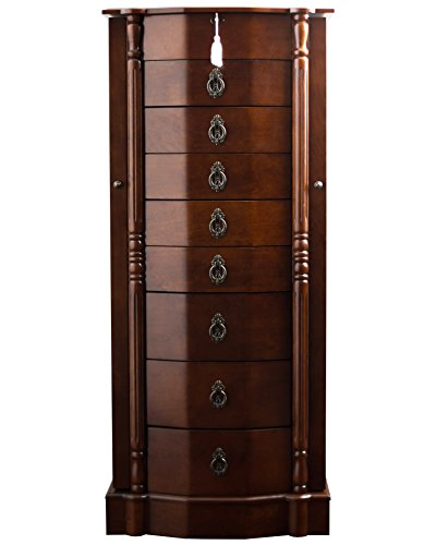 The 8 best jewelry armoire with lock