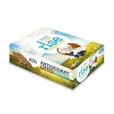 Rise Bar Energy Bar – Organic Coconut Acai – Case of 12 – 1.6 oz