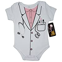 (3-6) The Body Lady Funny Baby Girl Novedad Traje de Uniforme Infantil de una pieza Body lindo