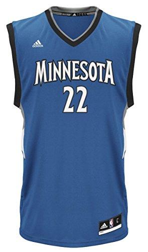 NBA Minnesota Timberwolves Andrew Wiggins #22 Men's Road Replica Jersey, XX-Large, -