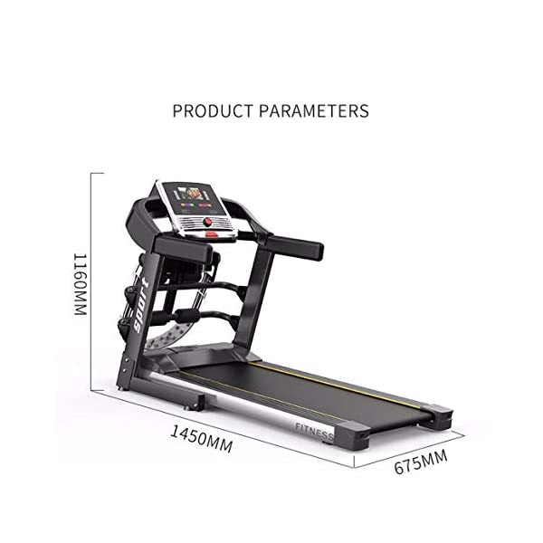 Fitness Club Tapis roulant Professionale, Pieghevole, Macchine da Passeggio Carico 150 kg, Cyclette Compatibile WiFi… 2 spesavip