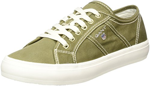 Gant Damen Zoe Sneaker Grün (verde Militare)