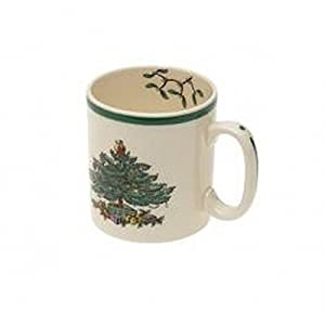Spode Christmas Tree Mug, Set of 4