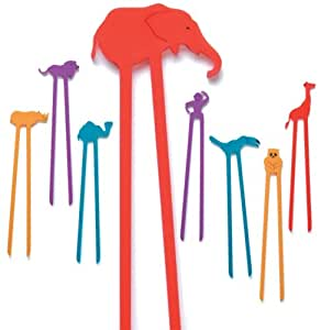 Hog Wild Zoo Sticks Party Set(Pack of 8)