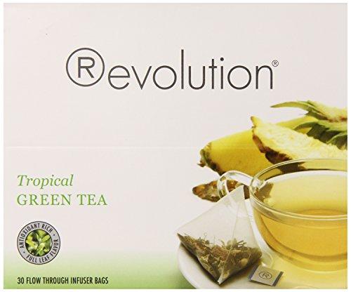 Revolution Tea Tropical Green Tea, 30 Count For Sale