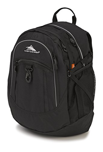 High Sierra 64020-1041 Fat Boy Backpack, Black